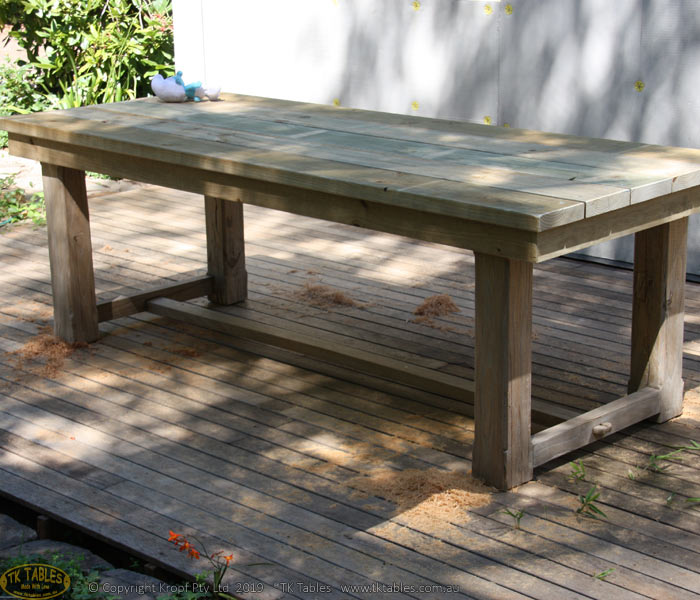 Solid Posted Wooden Table