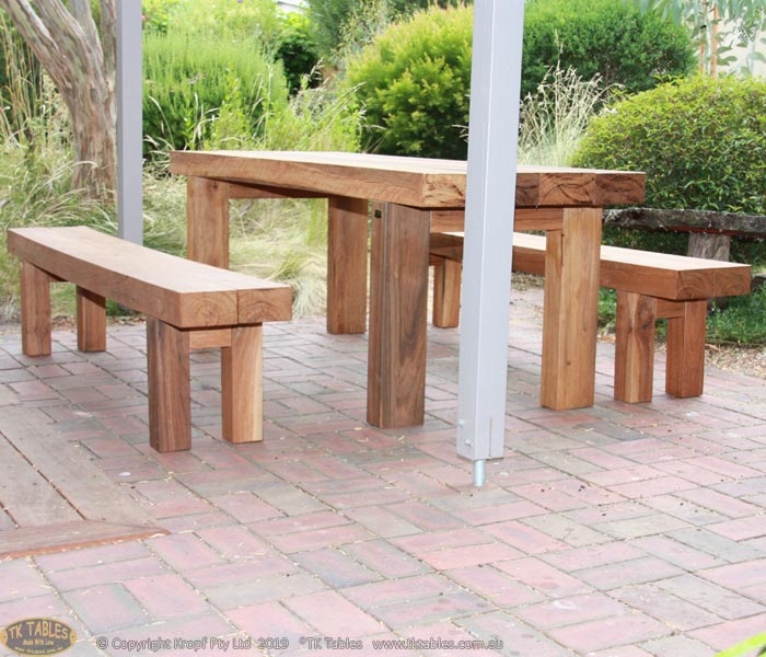 Bespoke Furniture Block Outdoor Tables