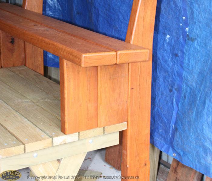 Memorial Wooden Bench Seat