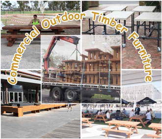 Commercial Outdoor Timber Furniture